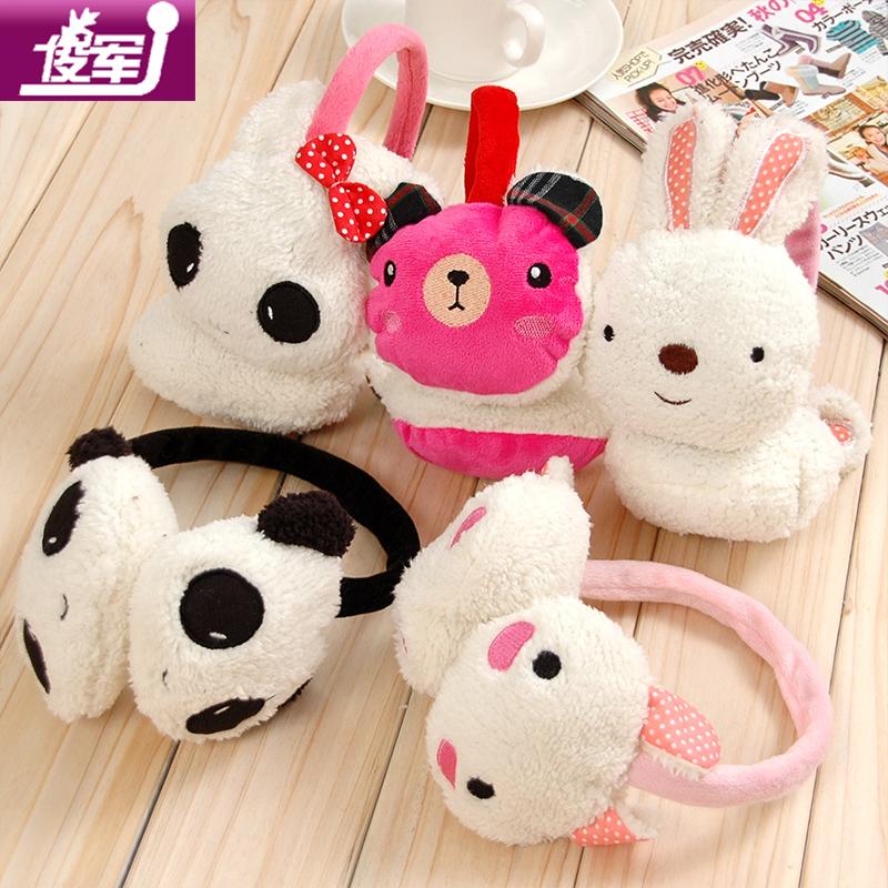 A257仿兔毛耳罩 可爱儿童耳套 女 超大耳包 保暖韩国耳暖护耳批发 价格:6.86