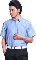 正品多佳麻棉短袖男式衬衫 白菜价清仓 清凉透气半袖衬衣 价格:23.18