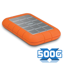 LaCie Rugged Triple 500GB USB3.0+1394 移动硬盘 7200rpm 2.5寸 价格:1080.00