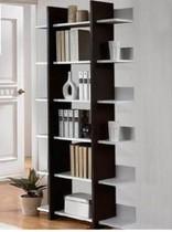 雅霏.写意空间书架 特价宜家书柜书橱 书房置物架 创意柜子 价格:151.20