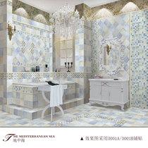 贝拉维拉地中海系列6D喷墨瓷砖亮光仿古砖 厨卫墙砖300*300mm3002 价格:7.20