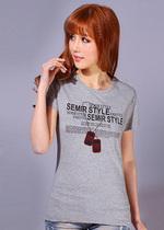 森马女t恤短袖 2013夏季新款韩版修身女士女装上衣纯棉短袖女夏装 价格:19.90