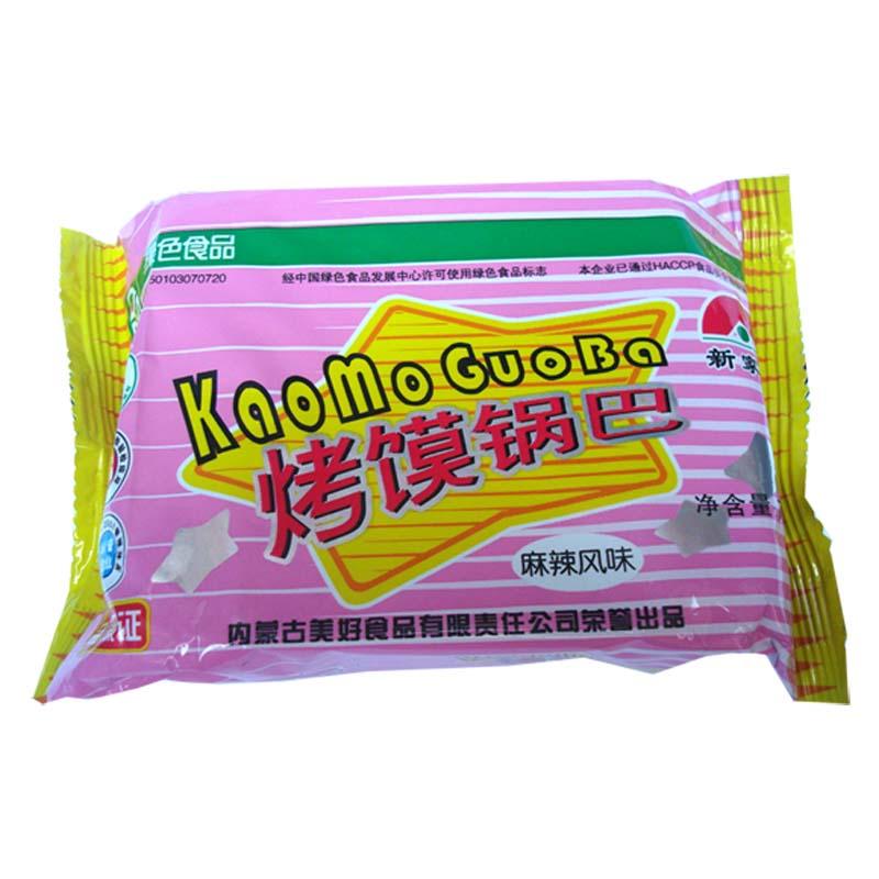 【天猫超市】新家园 麻辣风味烤馍锅巴 75g/袋绿色食品非油炸馍片 价格:1.79