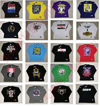 摔角WWE RKO/赛纳/朋克/希莫斯/HHH/布洛克/送葬者/道夫长袖T恤 价格:35.00