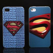 曼德美 时尚超人 iphone4s手机壳 苹果4代手机套 保护壳 彩绘外壳 价格:19.98