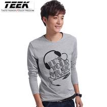 TEEK 2013新款 青少年男装 韩版打底衫 t恤 男 长袖 男士长袖t恤 价格:65.00