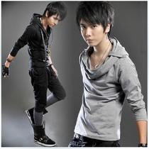 青少年男装2013秋装新款韩版潮流男士长袖t恤衫男生非主流上衣服 价格:49.95