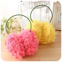 【可爱屋】女士毛绒保暖耳罩 仿羊毛耳暖 护耳玫瑰绒冬季保暖耳套 价格:13.00
