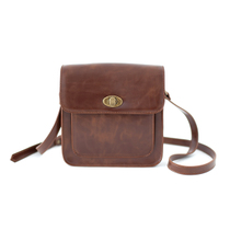 2013文艺欧美英伦复古包 棕色小皮包 单肩斜跨女包 价格:195.00