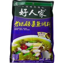 好人家 老坛酸菜鱼调料 360克 北京五元不限重 价格:8.20