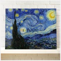 梵高的星空帆布无框画客厅卧室玄关餐厅书房办公空间挂画墙画配画 价格:38.00