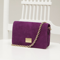 CHOC BOUTIQUE the PURPLE 紫色翻毛牛皮包 价格:299.00