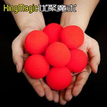 神出鬼没 神奇的 海绵球 高品质海绵 12个玩法 超耐用 魔术道具 价格:0.65