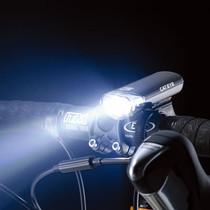 正品CATEYE/猫眼 HL-EL135 山地自行车灯前灯 广角散光省电车头灯 价格:107.00