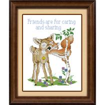 法国DMC十字绣正品套件专卖  Friends are for 价格:32.20