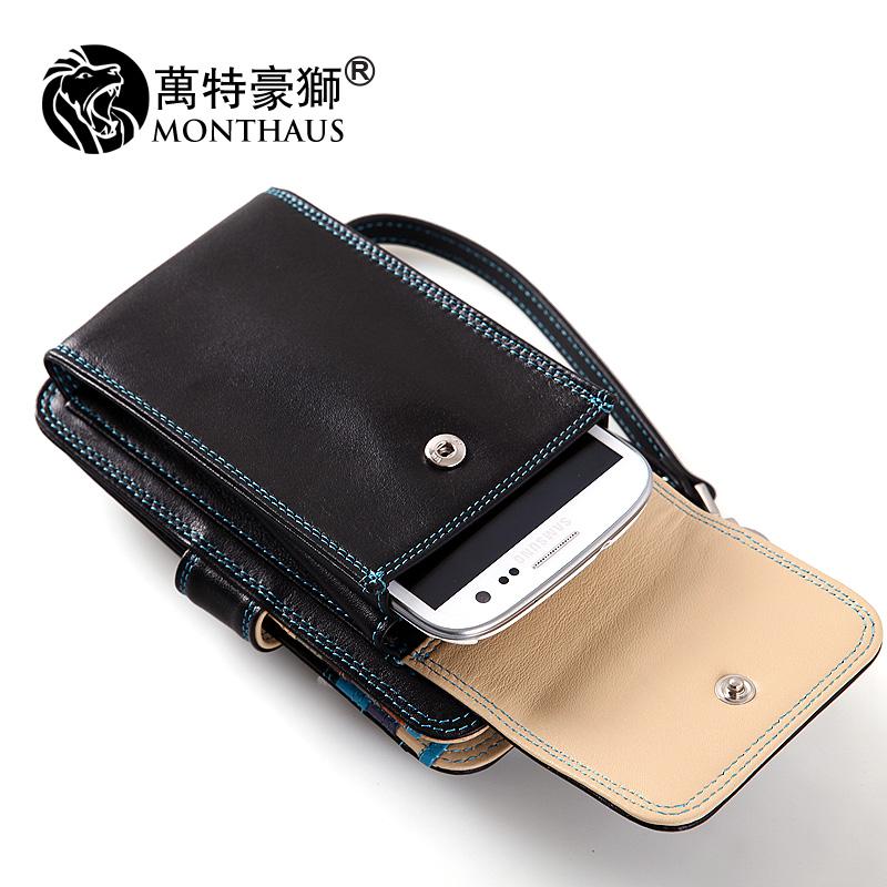 男士钱包 原创  多功能手机包 男士真皮小手包  牛皮短款 钱包 男 价格:228.00