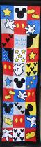 米老鼠米奇米妮mickey mouse外贸原单儿童纯棉卡通毛巾面巾运动巾 价格:9.75