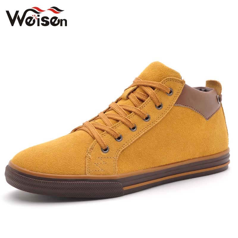 惟森秋季男鞋子低帮鞋时尚潮流男士休闲鞋板鞋韩版英伦风反绒皮鞋 价格:152.00