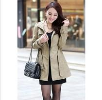 拜丽德2013春季女装新款风衣韩版潮修身时尚气质休闲外套特价包邮 价格:199.00