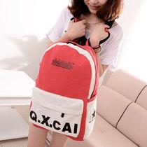 2013新款女包潮 韩版学院风双肩包背包可爱休闲帆布包书包中学生 价格:36.90
