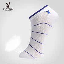 4双装花花公子正品男袜 吸湿透气新疆精梳棉男式船袜子 男人袜 价格:45.00