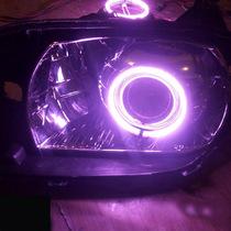 11-12年海马海福星天使眼大灯 海福星大灯 改Q5 海拉三代双光透镜 价格:600.00
