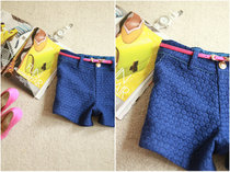 特。2013秋季新款 韩版时尚百搭纯色立体小雏菊短裤   赠腰带 价格:149.00