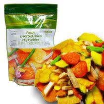 台湾风味 亚细亚果蔬批发 萌鲜什锦蔬菜脆片 批发 整件24包185元 价格:10.00