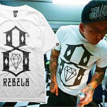 大8西海岸纹身rebel8短袖teeT恤嘻哈风格 街舞 hiphop vans男装 价格:25.00
