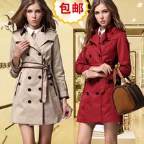 正品代购Burberry风衣巴宝莉女装风衣女士中长款双排扣风衣外套 价格:499.00