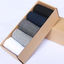 5双装 男棉袜 男士中筒休闲袜 男袜 礼品袜 春秋袜子 价格:15.00