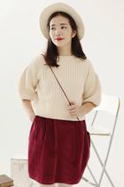 【独奏庄园】最后的精灵 秋装新款复古羊毛短款加厚毛衣多色 价格:119.00