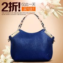 真皮女包  彤恩 2013新款韩版潮牛皮女士包包单肩包手提包斜跨包 价格:158.00