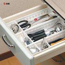 众煌日本进口塑料收纳盒抽屉整理盒其他杂物盒子化妆品创意储物盒 价格:11.04