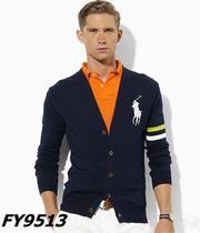 美国代购正品圣大保罗开衫毛衣修身男装V领长袖针织衫2013新秋装 价格:288.00
