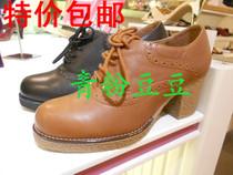 他她2013年秋季新款正品代购 2XD21D 粗跟系带女单鞋 价格:268.00
