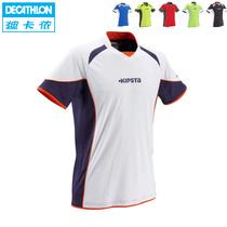 迪卡侬正品 足球服 男士 足球衣 队服 短袖运动服新款到货KIPSTA 价格:79.00