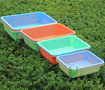 全新熟料加厚塑料洗菜箩滴水箩洗菜盆洗菜筛子洗菜篮子水果篮 价格:2.50