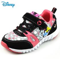 2013迪士尼米奇秋款正品牌女孩儿童鞋女童大童休闲鞋旅游鞋运动鞋 价格:138.23