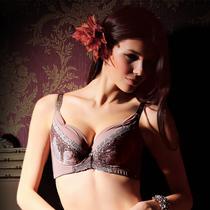 香港体会大胸全罩杯薄款蕾丝聚拢调整型内衣磁疗按摩文胸BQD1256 价格:118.00