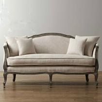 特价北欧家具出口外贸沙发美式法式乡村沙发复古做旧双人沙发现货 价格:2780.00