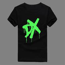美国职业摔跤比赛 美摔DX 兰迪奥顿 荧光衣服WWE夜光T恤纯棉短袖 价格:25.00