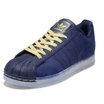阿迪达斯adidas三叶草板鞋贝壳头男鞋superstar果冻G65812 G43824 价格:338.00
