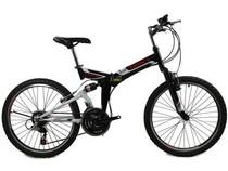 千里达拉风FM260 26寸,24寸折叠山地自行车 变速折叠城市自行车 价格:738.00
