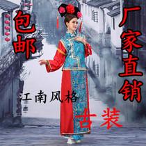 古装 旗袍特价 格格装 女古装 清朝服装;格格服;还珠格格古装 价格:29.40