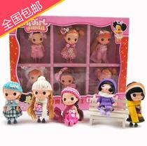 包邮 迷糊娃娃套装礼盒笛莎芭比娃娃礼盒套装儿童生日节日蒙奇奇 价格:49.00