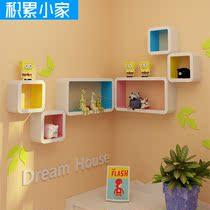 积累小家简约风格 墙壁架 置物架 隔板 创意搁板 壁挂 装饰架HOT! 价格:79.00
