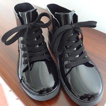 促销 2013新款防帆布系列低帮板鞋式防水雨鞋 休闲水鞋 时尚水靴 价格:36.00