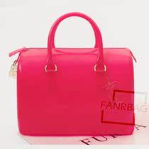 FANRBAG女士包包2013新款果冻包透明包糖果包波士顿手提包枕头包 价格:139.00