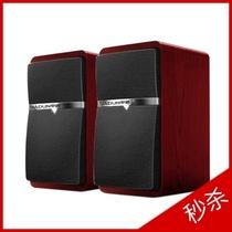 甲盾2.0 USB音箱 笔记本台式机音箱 木制箱体 甲盾M8 多媒体音响 价格:79.00